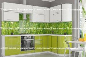 Угловая кухня Июль - Мебельная фабрика «Мебель Поволжья»