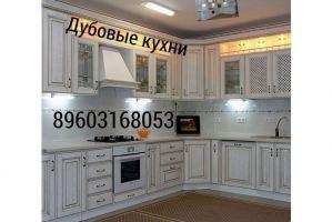 Угловая кухня из дуба - Мебельная фабрика «Аледо»