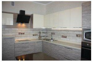 Угловая кухня из эко-панелей - Мебельная фабрика «Елиза»