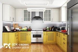 Угловая кухня из массива - Мебельная фабрика «ДОК-Сервис»