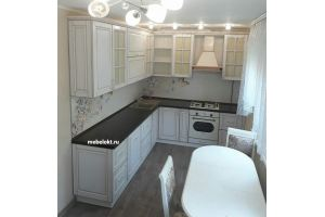 Угловая кухня из массива - Мебельная фабрика «Авангард»