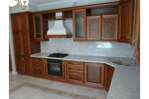 Угловая кухня из массива - Мебельная фабрика «Винтаж»