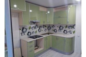 Угловая кухня из пластика - Мебельная фабрика «Корпус»