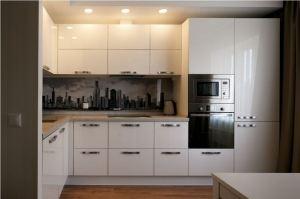 Угловая кухня из пластика Arcopa - Мебельная фабрика «СМ Вектор»