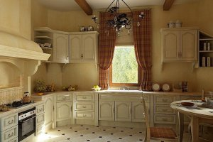 Угловая кухня классическая  - Мебельная фабрика «Передовые технологии дизайна»