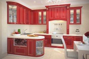 Угловая кухня Бордо - Мебельная фабрика «КамиАл»