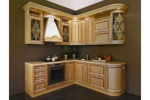 Угловая кухня классика - Мебельная фабрика «Арт Мебель» г. Новосибирск
