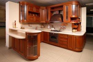 Угловая кухня классика - Мебельная фабрика «Mirati»
