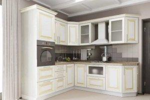 Угловая кухня классика из МДФ - Мебельная фабрика «Елиза»