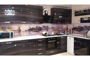 Угловая кухня лаковая - Мебельная фабрика «Самеко»