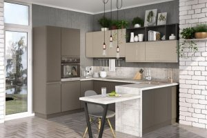 Угловая кухня ЛАЙН - Мебельная фабрика «Эстель»