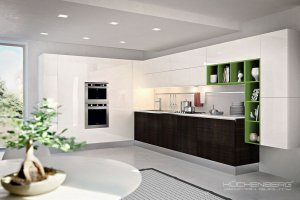 Угловая кухня LAZIO - Мебельная фабрика «KUCHENBERG»