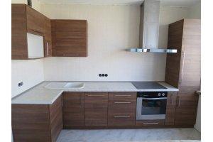 Угловая кухня ЛДСП Милан 10 - Мебельная фабрика «Баронс»