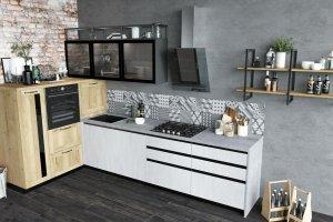 Угловая кухня Manhattan - Мебельная фабрика «Cucina»