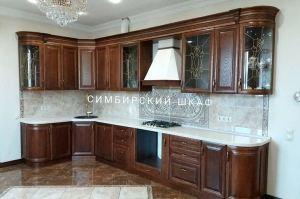 Угловая кухня Массив - Мебельная фабрика «Симбирский шкаф»