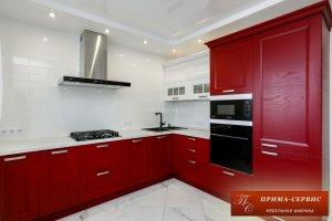 Угловая кухня массив Арли - Мебельная фабрика «Прима-сервис»