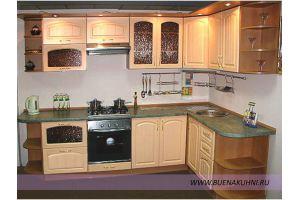 Угловая кухня МДФ - Мебельная фабрика «Buena»