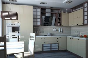 Угловая кухня МДФ - Мебельная фабрика «ARTOKEAN»