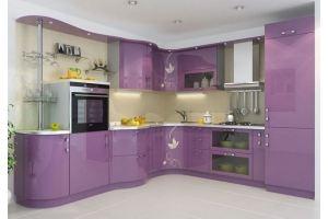 Угловая кухня МДФ+эмаль - Мебельная фабрика «Mebeon»