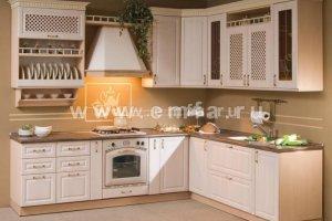 Угловая кухня МИШЕЛЬ ПВХ - Мебельная фабрика «Энгельсская (Эмфа)»