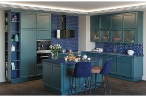 Угловая кухня Молли с островом - Мебельная фабрика «GRETA»