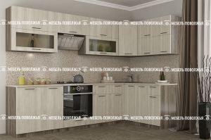 Угловая кухня Момент ЛДСП - Мебельная фабрика «Мебель Поволжья»