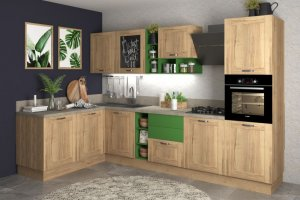 Угловая кухня Ницца - Мебельная фабрика «Ульяновскмебель (Эвита)»