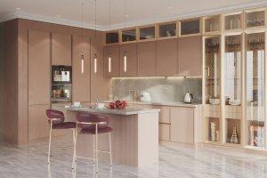 Угловая кухня Nova с островом - Мебельная фабрика «GRETA»