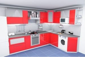 Угловая кухня Новация - Мебельная фабрика «ЛиО»
