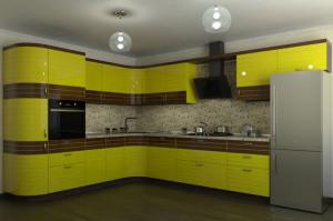 Угловая кухня Оливия - Мебельная фабрика «Формула Уюта»