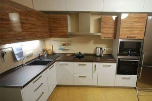 Угловая кухня пластик - Мебельная фабрика «Гранд Мебель»