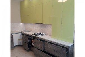 Угловая кухня Пластик - Мебельная фабрика «Авеста»