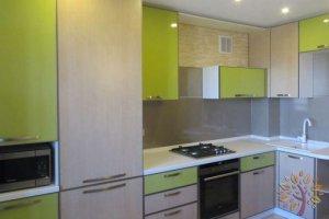 Угловая кухня под потолок - Мебельная фабрика «ЭльфОла»