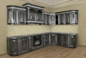 Угловая кухня Прага - Мебельная фабрика «ШАД»