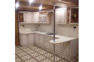 Угловая кухня с барной стойкой - Мебельная фабрика «Гранд Мебель»