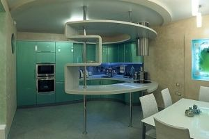 Угловая кухня с барной стойкой - Мебельная фабрика «Премьера»