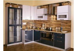 Угловая кухня с буфетом - Мебельная фабрика «Арт Мебель» г. Новосибирск