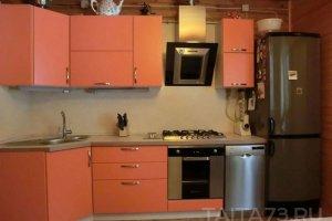 Угловая кухня с  матовыми фасадами - Мебельная фабрика «Таита»