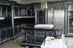 Угловая кухня с островом - Мебельная фабрика «Velvet-Interior»