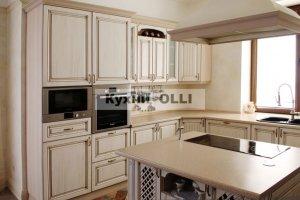 Угловая кухня с островом - Мебельная фабрика «Кухни OLLI»