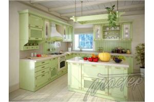 Угловая кухня с островом - Мебельная фабрика «Мебель-мастер»