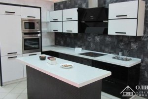 Угловая кухня с островом Астерия 02 - Мебельная фабрика «ОЛИМП»