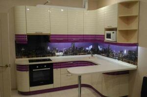 Угловая кухня Шоколадная фантазия - Мебельная фабрика «Кухни-АСТ»