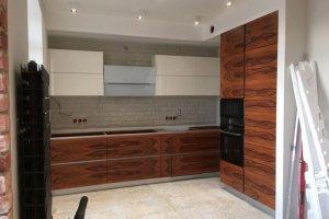 Угловая кухня шпон - Мебельная фабрика «МебельСегодня»