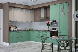Угловая Кухня Сканди - Мебельная фабрика «Ликарион»