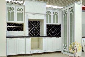 Угловая кухня со шкафом - Мебельная фабрика «Эльф»