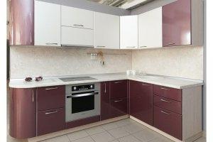 Угловая кухня Софт черешня - Мебельная фабрика «Хомма»
