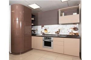 Угловая кухня Софт Капучино - Мебельная фабрика «Хомма»