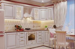 Угловая кухня в классическом стиле - Мебельная фабрика «ARTOKEAN»