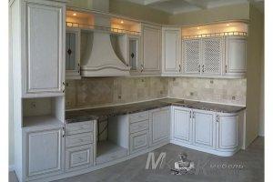 Угловая кухня в классическом стиле - Мебельная фабрика «Курдяшев-мебель»